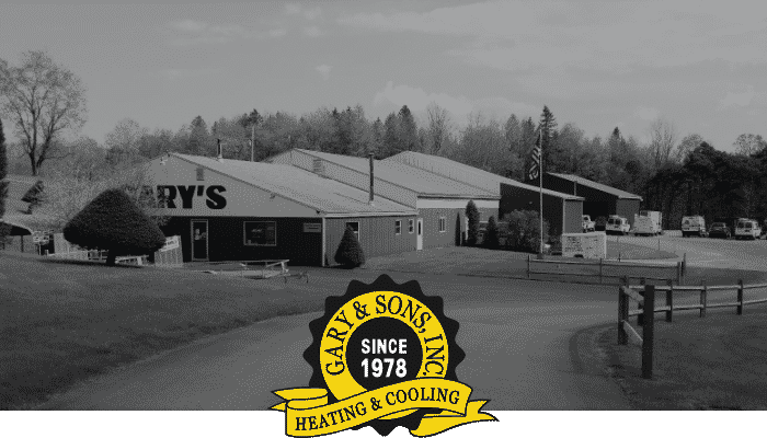 Gary And Sons Building Black White With Logo