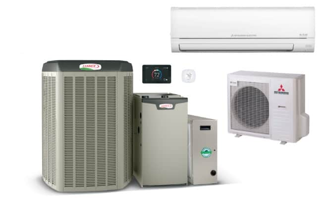 lennox and mitsubishi products